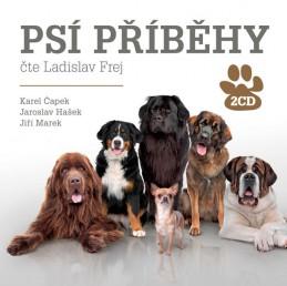 Psí příběhy - 2CD - Čapek Karel, Hašek Jaroslav, Marek Jiří,