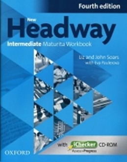 New Headway Fourth Edition Intermediate Maturita Workbook CZ with iChecker CD - Soars John and Liz