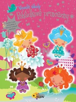 Zábavné úkoly - Pohádkové princezny - samolepky - neuveden