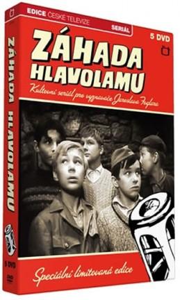 Rychlé šípy - Záhada hlavolamu - 5 DVD - Foglar Jaroslav