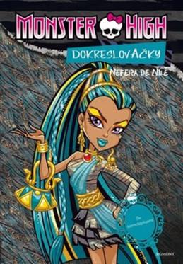 Monster High - Nefera de Nile + Operetta - Dokreslovačky se samolepkami - Mattel