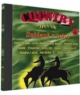 Country zpěvník 4 - 1 CD - neuveden