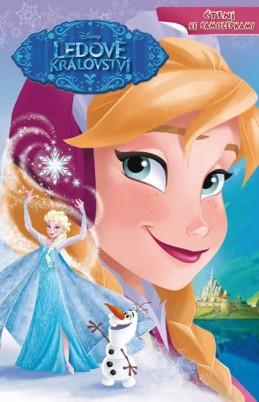 Ledové království - Čtení se samolepkami - Disney Walt
