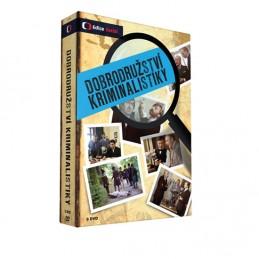 Dobrodružství kriminalistiky - 8 DVD - neuveden