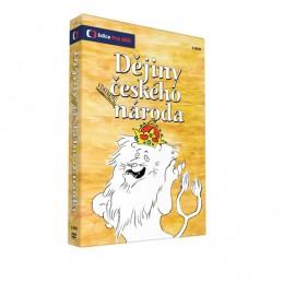 Dějiny udatného českého národa - 3 DVD - neuveden