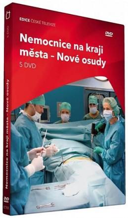 Nemocnice na kraji města - Nové osudy - 5 DVD - neuveden