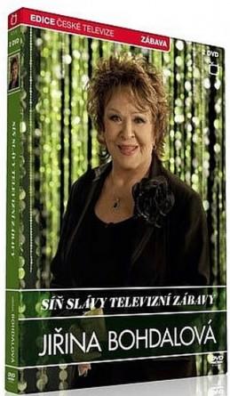Síň slávy - Jiřina Bohdalová - 2 DVD - neuveden