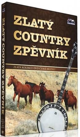 Zlatý country zpěvník - DVD - neuveden