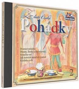 Zlaté České pohádky 2. - 1 CD - neuveden
