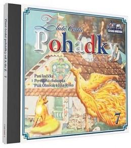 Zlaté České pohádky 7. - 1 CD - neuveden