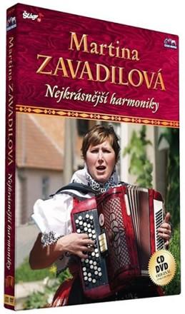 Zavadilová Martina - Nejkrásnější harmoniky - CD+DVD - neuveden