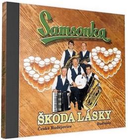 Samsonka - Škoda lásky - 1 CD - neuveden