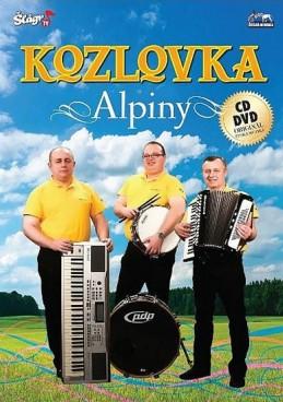 Kozlovka - Alpiny - CD+DVD - neuveden