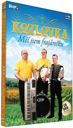 Kozlovka - Měl jsem frajarečku - CD+DVD - neuveden