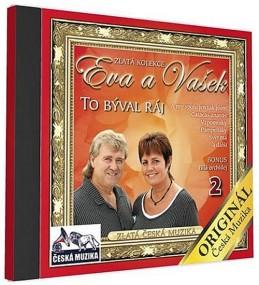 Eva a Vašek 2 - To býval ráj - 1 CD - neuveden