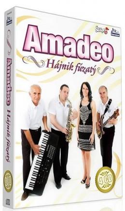 Amadeo - Hájnik fúzatý - 4 CD - neuveden