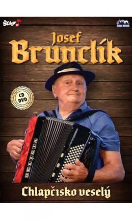 Josef Brunclík - Chlapčisko veselý - CD+DVD - neuveden
