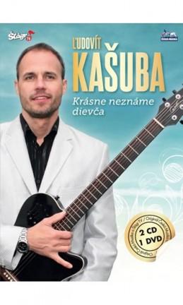 Ludovít Kašuba - Krásné neznáme dievča - 2CD+DVD - neuveden