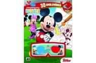 Mickeyho klubík Omalovánky 3D
