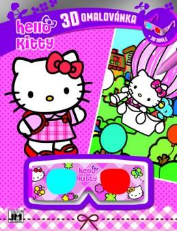 Hello Kitty Omalovánky 3D - neuveden