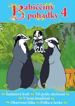 Babiččiny pohádky 4 - DVD - neuveden
