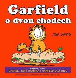 Garfield o dvou chodech - Davis Jim