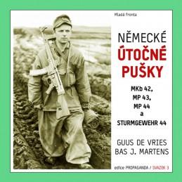 Německé útočné pušky MKb 42, MP 43, MP 44 a Sturmgewehr 44 - de Vries Guus, Martens Bas J.