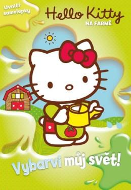 Hello Kitty na farmě - Vybarvi můj svět! + samolepky - Sanrio