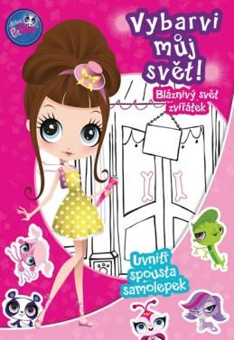Littlest Pet Shop - Vybarvi můj svět 2! Bláznivý svět zvířátek - Hasbro
