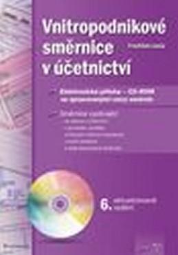 Vnitropodnikové směrnice v účetnictví + CD - Louša František