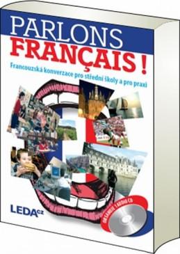Parlons francais - Francouzská konverzace pro střední školy a pro praxi + 1CD - Velíšková O., Špinková E.