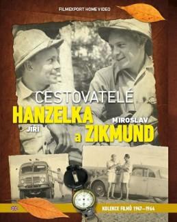 Cestovatelé Zikmund a Hanzelka - kolekce 9 DVD - neuveden