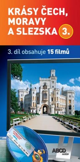 Krásy Čech, Moravy a Slezska 3 - 15 DVD - neuveden