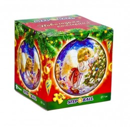 Plastic Puzzle Koule 60 Vánoční kolekce - Andělíček - neuveden