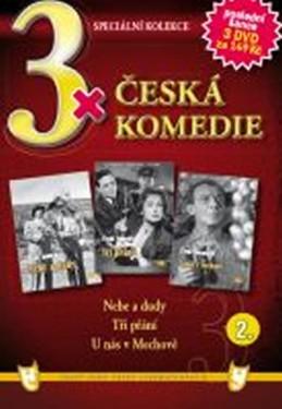 3x DVD - Česká komedie 2. - neuveden