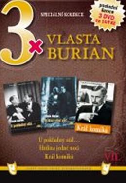 3x DVD - Vlasta Burian VII. - neuveden