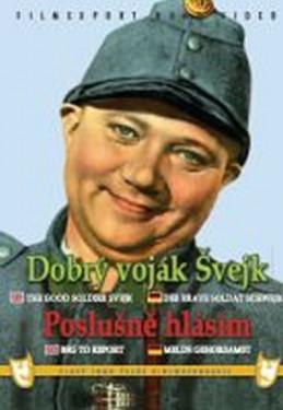 Dobrý voják Švejk/Poslušně hlásím - 2x DVD - digipack v šubru - neuveden