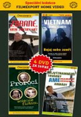 DVD set - Discovery 1.- 4. - neuveden