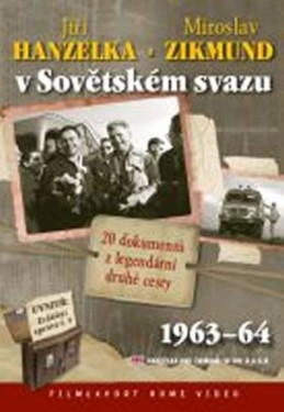 Hanzelka a Zikmund v Sovětském svazu - 2 DVD digipack v šubru + brožura - neuveden