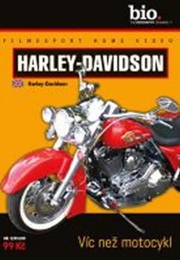 Harley-Davidson: Víc než motocykl - DVD digipack - neuveden