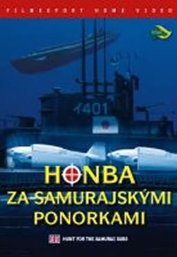 Honba za samurajskými ponorkami - DVD digipack - neuveden