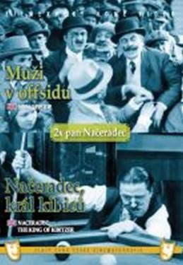 Muži v offsidu/Načeradec, král kibiců - (2 filmy na 1 disku) - DVD box - neuveden