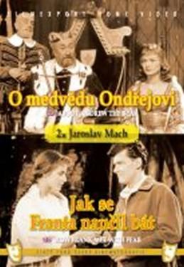 O medvědu Ondřejovi/Jak se Franta naučil bát - (2 filmy na 1 disku) - DVD box - neuveden