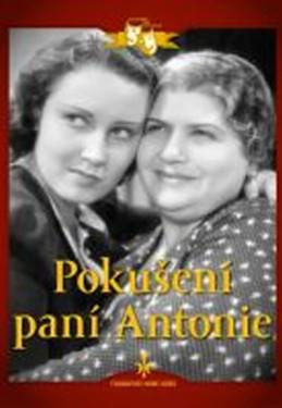 Pokušení paní Antonie - DVD digipack - neuveden
