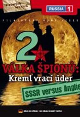 Válka špiónů: Kreml vrací úder 2. - SSSR versus Anglie - DVD digipack - neuveden
