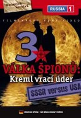 Válka špiónů: Kreml vrací úder 3. - SSSR versus USA - DVD digipack - neuveden