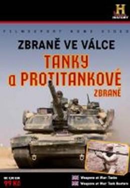 Zbraně ve válce: Tanky a Protitankové zbraně - DVD digipack - neuveden