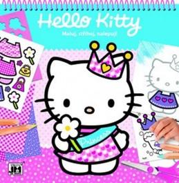 Hello Kitty - Maluj, stříhej, nalepuj! - neuveden