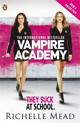 Vampire Academy 1 film tie-in (anglicky) - Mead Richelle