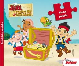 Pirat Jake - Kniha puzzle - Disney Walt